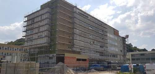 Výstavba interního pavilonu (III. etapa výstavby), Vsetínská nemocnice a. s.