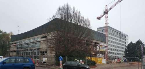 Revitalizace Auly ČZÚ Praha