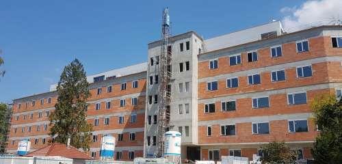 UHN - Centrální objekty (II. etapa), Uherskohradišťská nemocnice a. s.