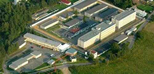 Věznice Stráž pod Ralskem, Výstavba střeleckého tunelu