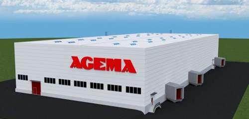 Výrobní hala AGEMA Europe, provoz Holešov