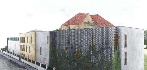 Výstavba domova pro seniory se zvláštním režimem, Vila Vančurova Opava