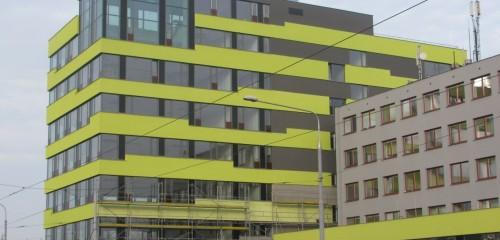 Administrativní centrum fy HOMOLA a.s. Ostrava, II. fáze - Nová administrativa