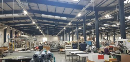 BKR ČR, Provoz VELUX Vyškov - Tovární,Pustiměřská_Hala 1,2,3,Hala V-Log, Úspory energie - LED osvětlení