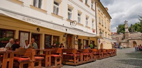 """Hotel """"U Zlatých nůžek"""" Praha"""