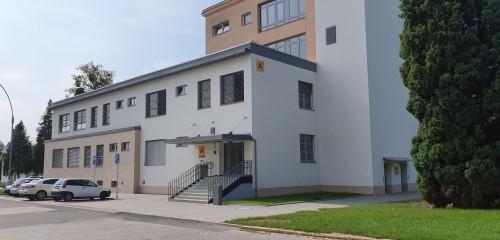 Kroměřížská nemocnice a.s., Přístavba budovy A.