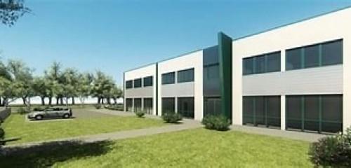 MURTFELDT  - Přístavby haly, administrativní budovy a parkoviště
