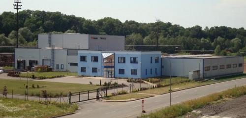 ERGON Třinec,Výstavba výrobního závodu I., II. Etapa